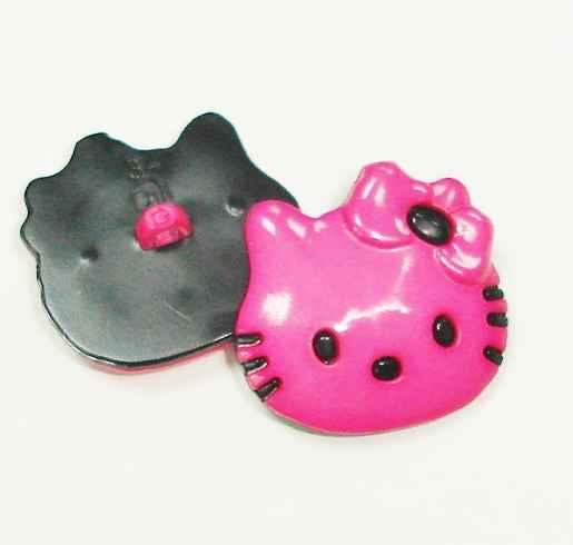 enfants bouton hello kitty pink 20mm 2.20 EUR//pièce