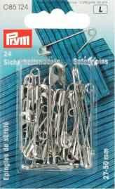 Prym imperdibles plata mezclados