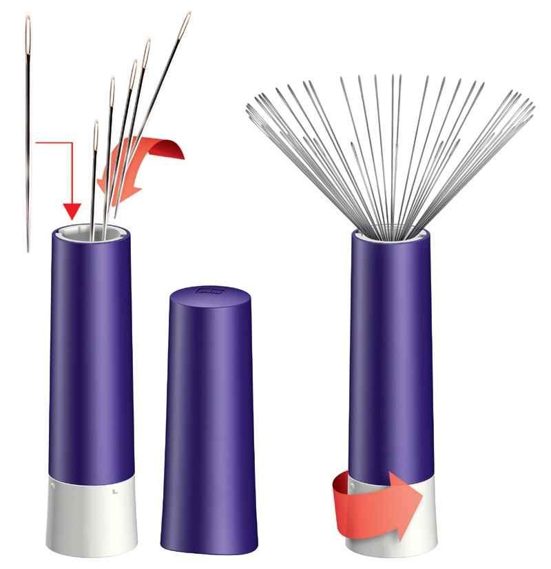 PRYM Nadel-Twister magnetisch Nadeldose Nadeldose